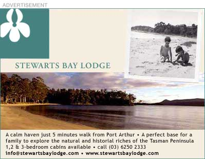 Stewarts Bay Lodge at Port Arthur